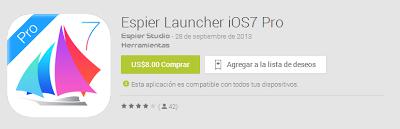 Espier Launcher iOS 7