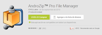 AndroidZip Pro File Manager