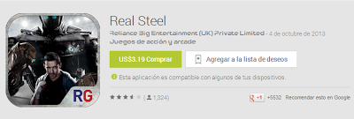 Real Steel HD descargar