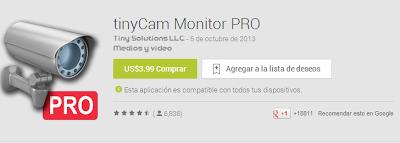 TinyCam Monitor PRO descargar APK gratis
