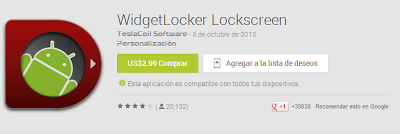 WidegetLocker Lockscreen