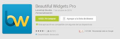Beatiful Widgets PRO