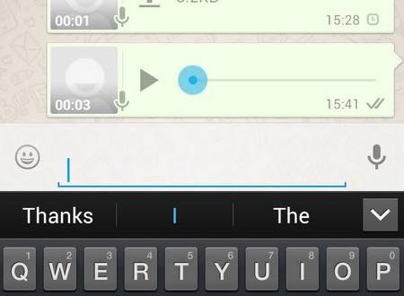 Truco para oír las notas de voz de Whatsapp sin ayuda